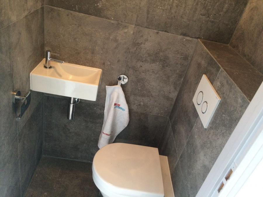Brugman Toilet Renovatie : Witte uitgeest compleet nieuw toilet voor u20ac 3.390